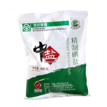 不适宜食用加碘盐_中盐海藻精制加碘盐 400g
