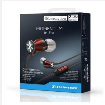森海塞尔(sennheiser)momentum in-ear i 入耳式耳机(iphone/ipad/ipo