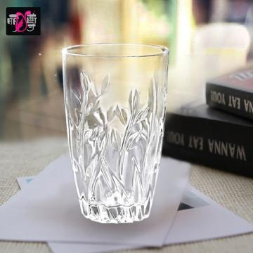 丽尊lz000102柳叶杯397ml 玻璃水杯6只装图片